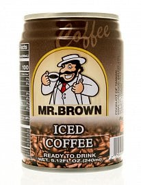 Mr. Brown Iced Coffee je jedna z mála nezahuštěných ledových káv