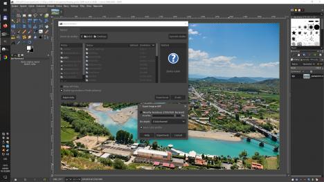 GIMP 2.10.22 export do AVIF