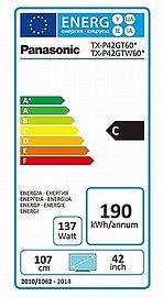 Oficiální spotřeba podle energetického štítku EU.