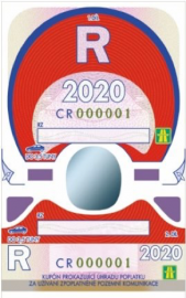 Roční dálniční známka