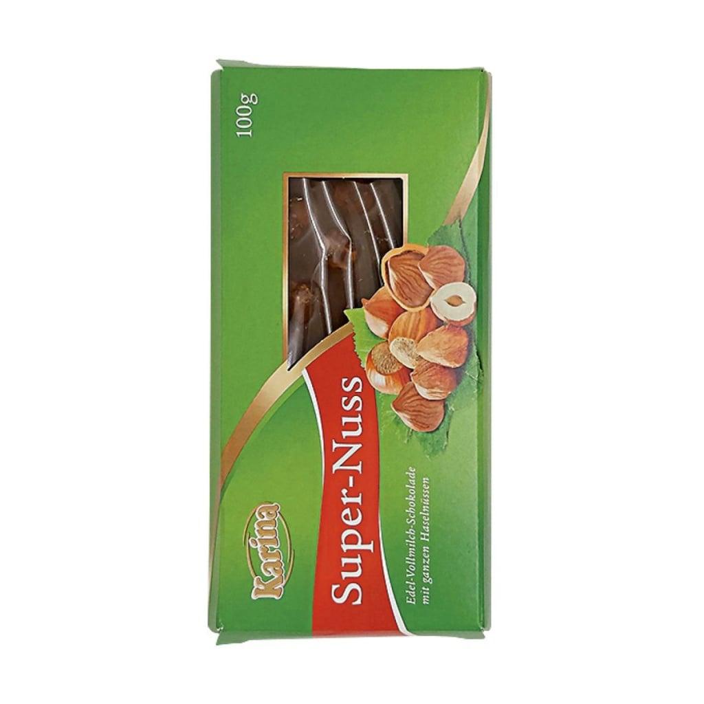 Test mléčných čokolád s lískovými ořechy