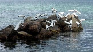 kamery na ostrově