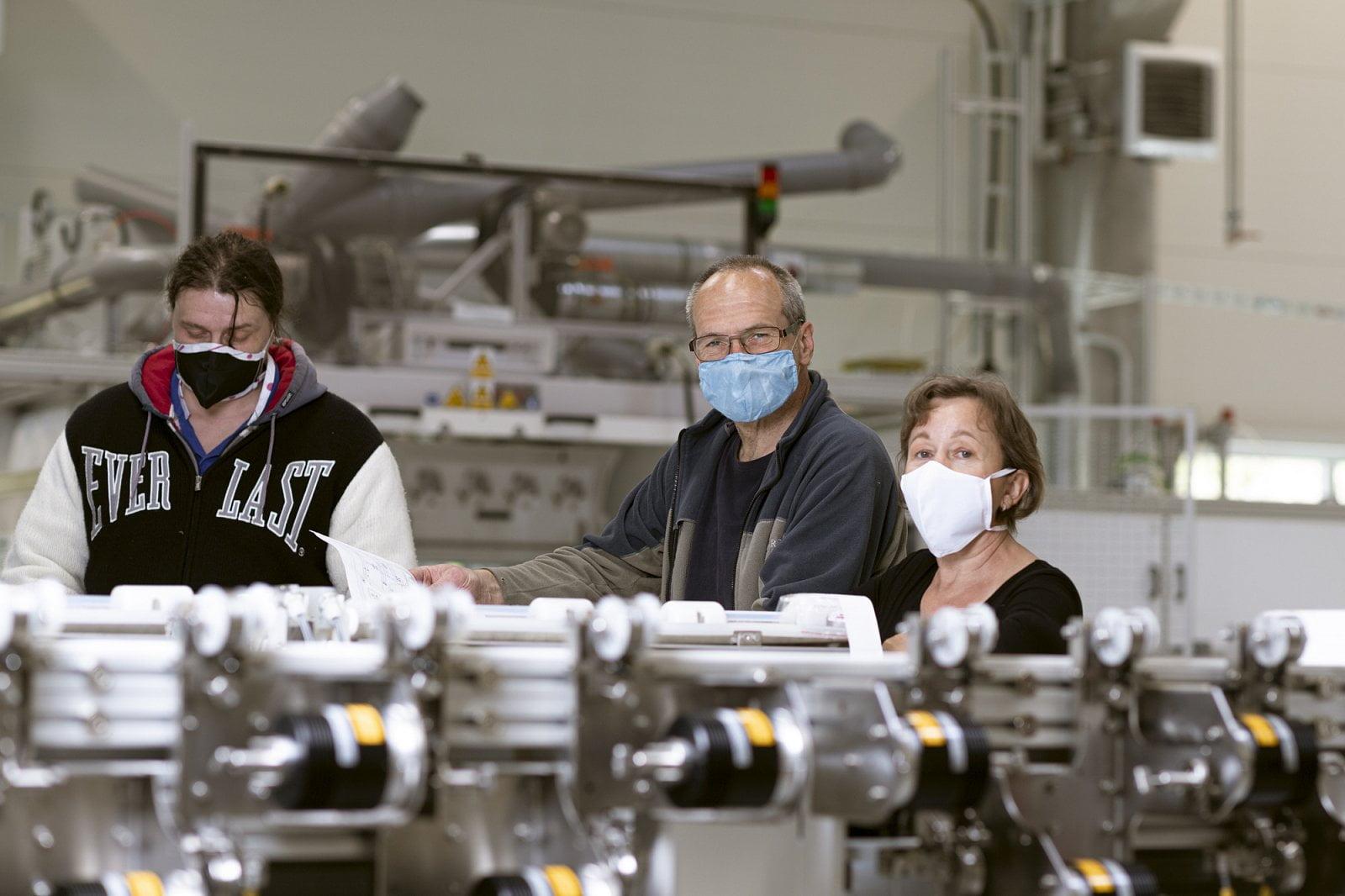 Výroba nanoroušek