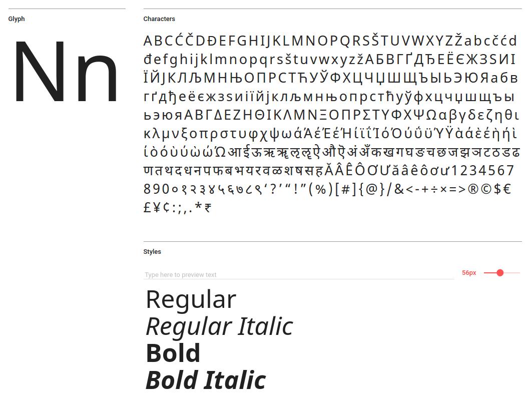 Google dokončil svůj font Noto, nabízí 110 tisíc znaků - Root cz