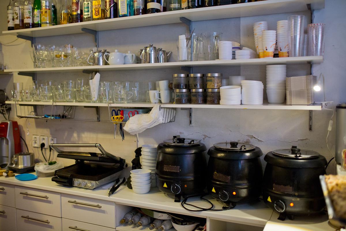 Prádelna Café: Lidé si k nám chodí prát prádlo