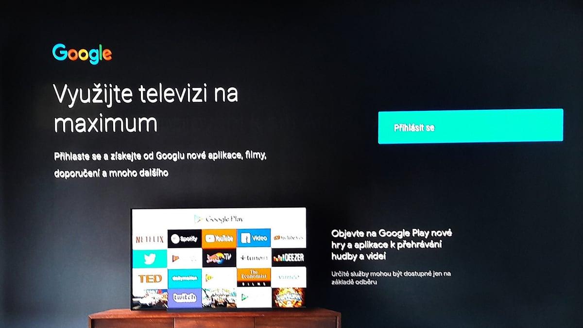 Box SledováníTV - přihlášení