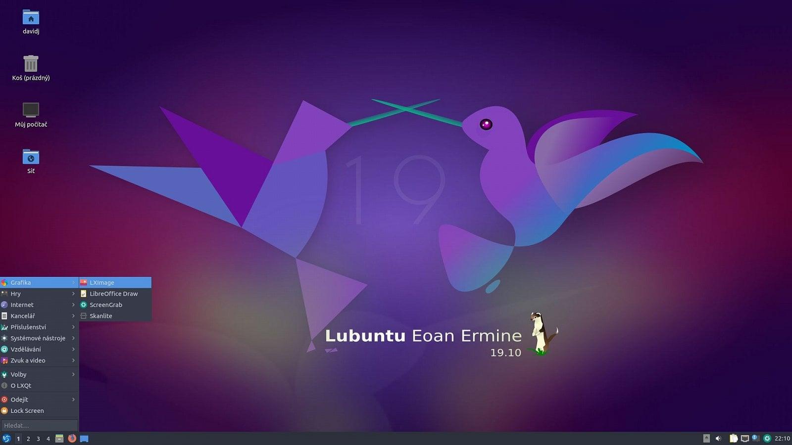 Lubuntu 19.10