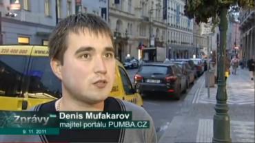 Denis Mufakarov v reportáži TV NOVA