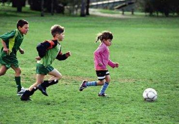 děti, sport, fotbal