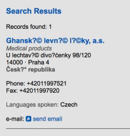 Ghanské levné půjčky. U lechtavé divoženky, Praha. Autor tohoto zápisu měl velký smysl pro humor a je důkazem, že Češi si na tento podvodný katalog dávají pozor.