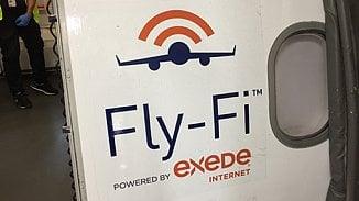 Lupa.cz: Fly-Fi, internet v letadle rychlejší než VDSL