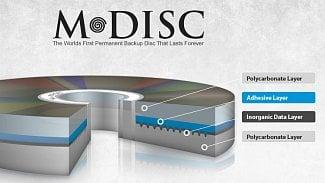 Root.cz: M-Disk vydrží tisíc let a stačí DVD vypalovačka