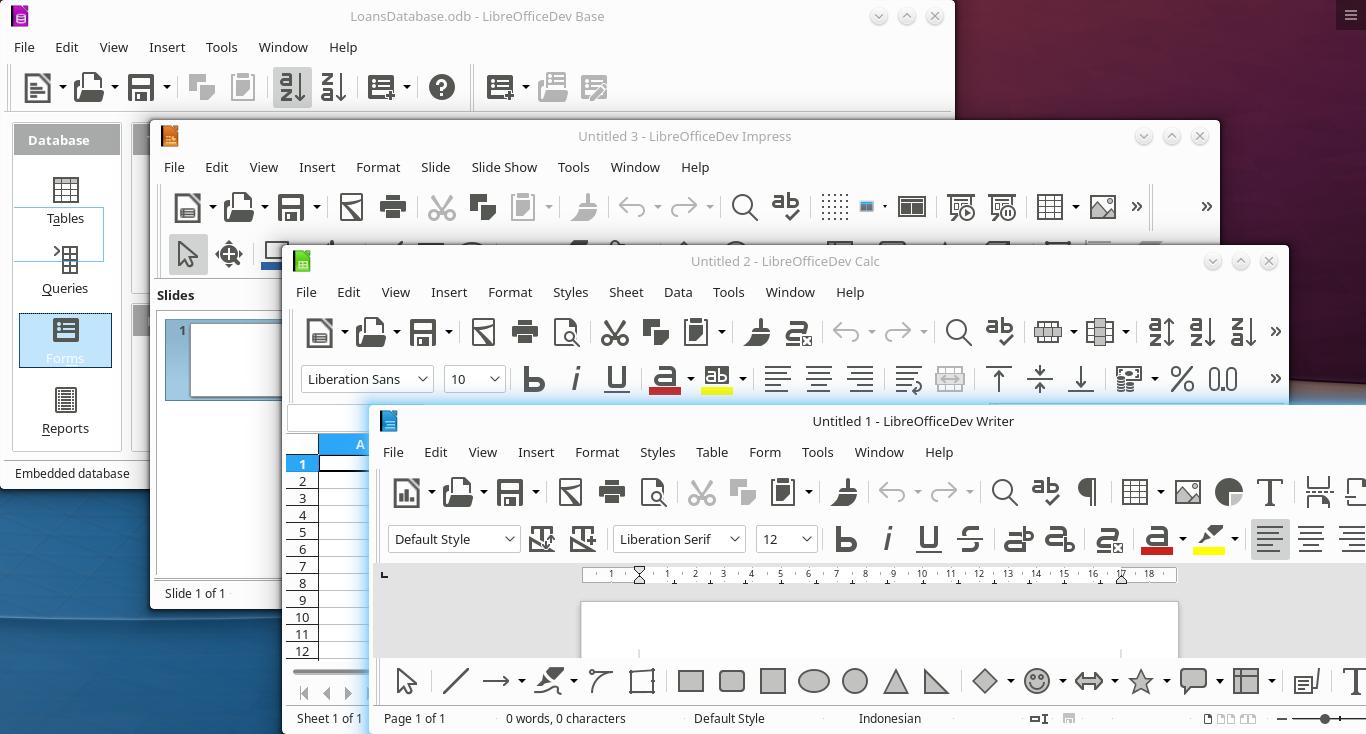 LibreOffice 6.4