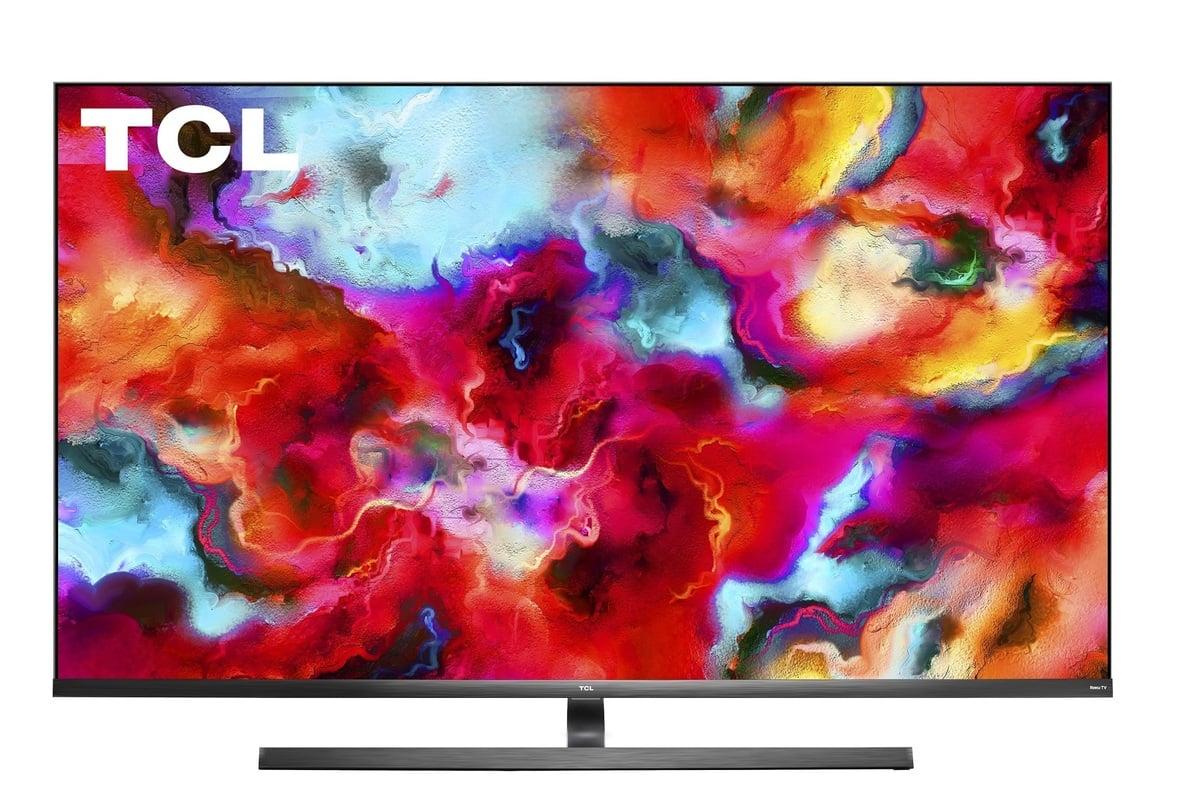 Nejmenší úhlopříčka u televizorů řady 8 Series od firmy TCL s technologií mini-LED je 65 palců.