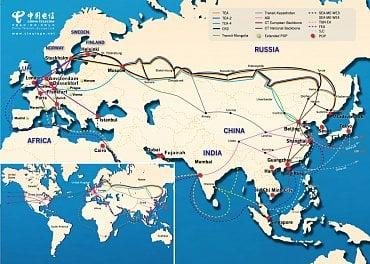 Trasy China Telecom