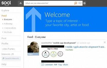 Šipka vede uživatele přímo do náruče Bingu.