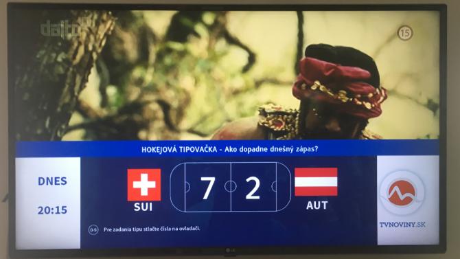 [aktualita] TV Markíza představila k mistrovství světa v hokeji Tipovačku na HbbTV