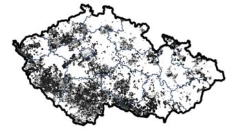 Lupa.cz: Kde v ČR není rychlý internet? Tady je mapa
