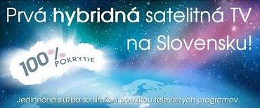 Nová satelitní platforma Antik Telecomu má jako jednu z výhod nabízet hybridní služby.