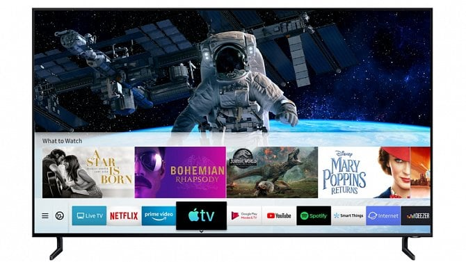 [aktualita] Chytré televizory Samsung začaly podporovat Apple TV a AirPlay 2