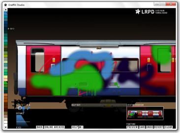 <p>Graffiti Studio - zmalujte vagón metra k nepoznání</p>