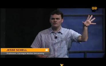 Jesse Schell na konferenci D.I.C.E. (tramtadadá!)