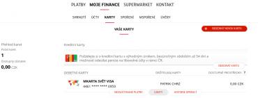 Podrobné nastavení parametrů platebních karet mBank. (15. 5. 2020)