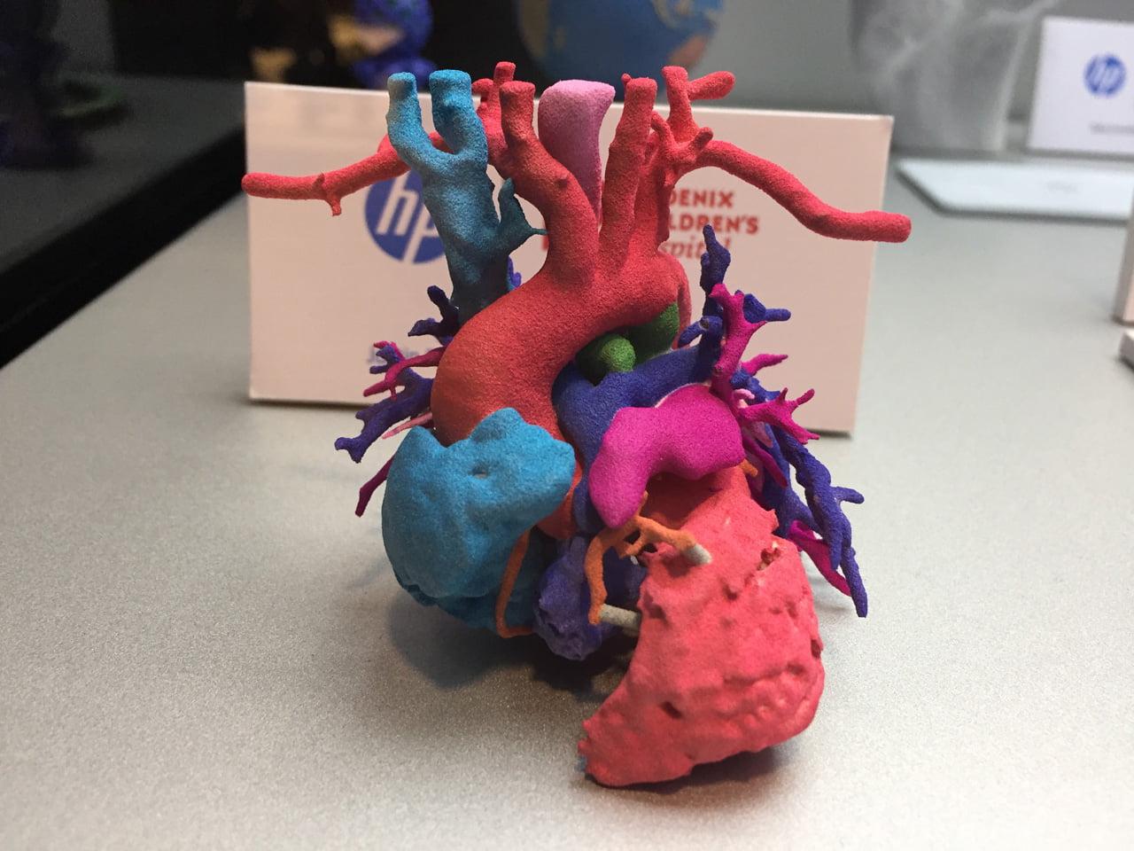 Výrobky vytištěné na 3D tiskárnách od HP Inc.