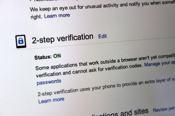 Dvoufázové ověřování i internetových služeb firmy Google