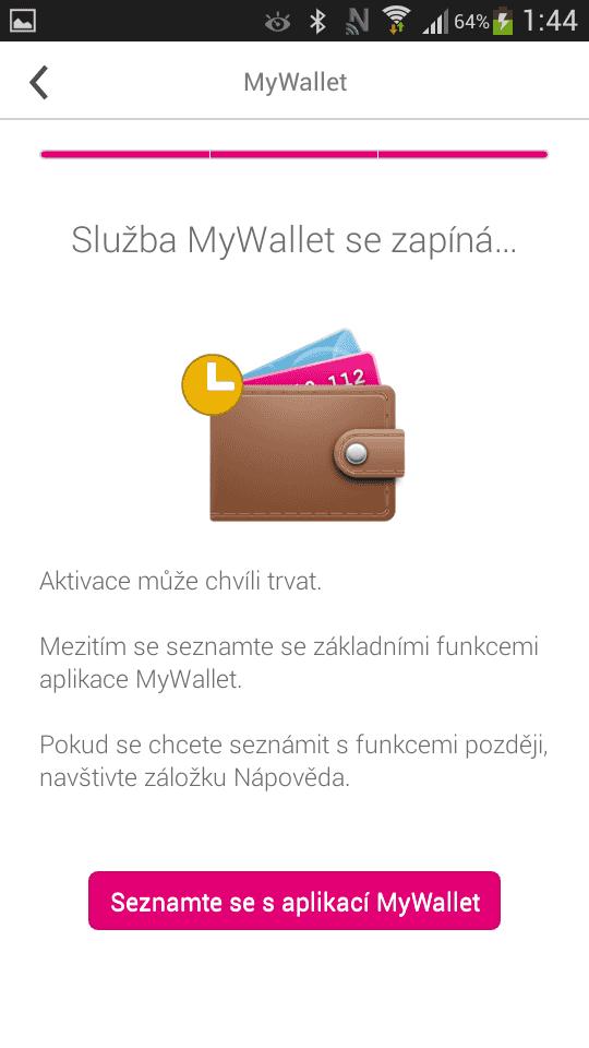 ČSOB T-Mobile NFC SIM platební karta