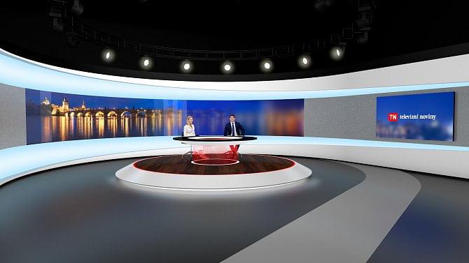 [aktualita] Studio a grafika Televizních novin na Nově se změní od 5. září