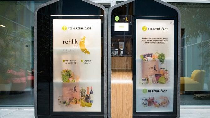 Rohlík.cz spouští síť vlastních výdejních automatů, mají snížit minimální cenu nákupu