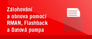 Zálohování a obnova pomocí RMAN, Flashback a Datová pumpa