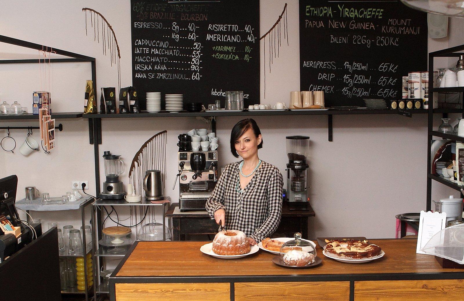 Alena Slámová si založila Kidó. Kavárnu nazývá kulturním domem.