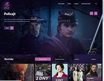 Epic Drama má už i české webové stránky, byť místy ještě trochu kostrbaté (program stanice).