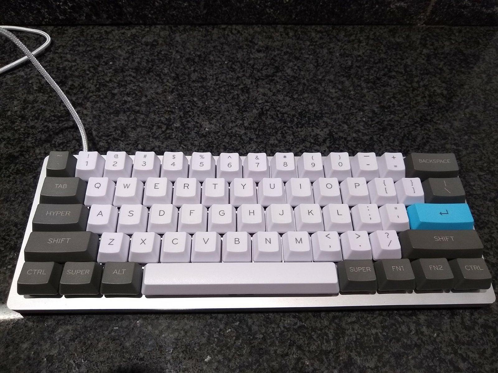 Stavba mechanické klávesnice