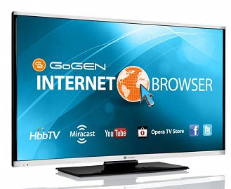 Televizor má svoji nespornou eleganci. Stříbrnou v horní a dolní části panelu pochopitelně představuje plast. I tak ale působí výtečně!