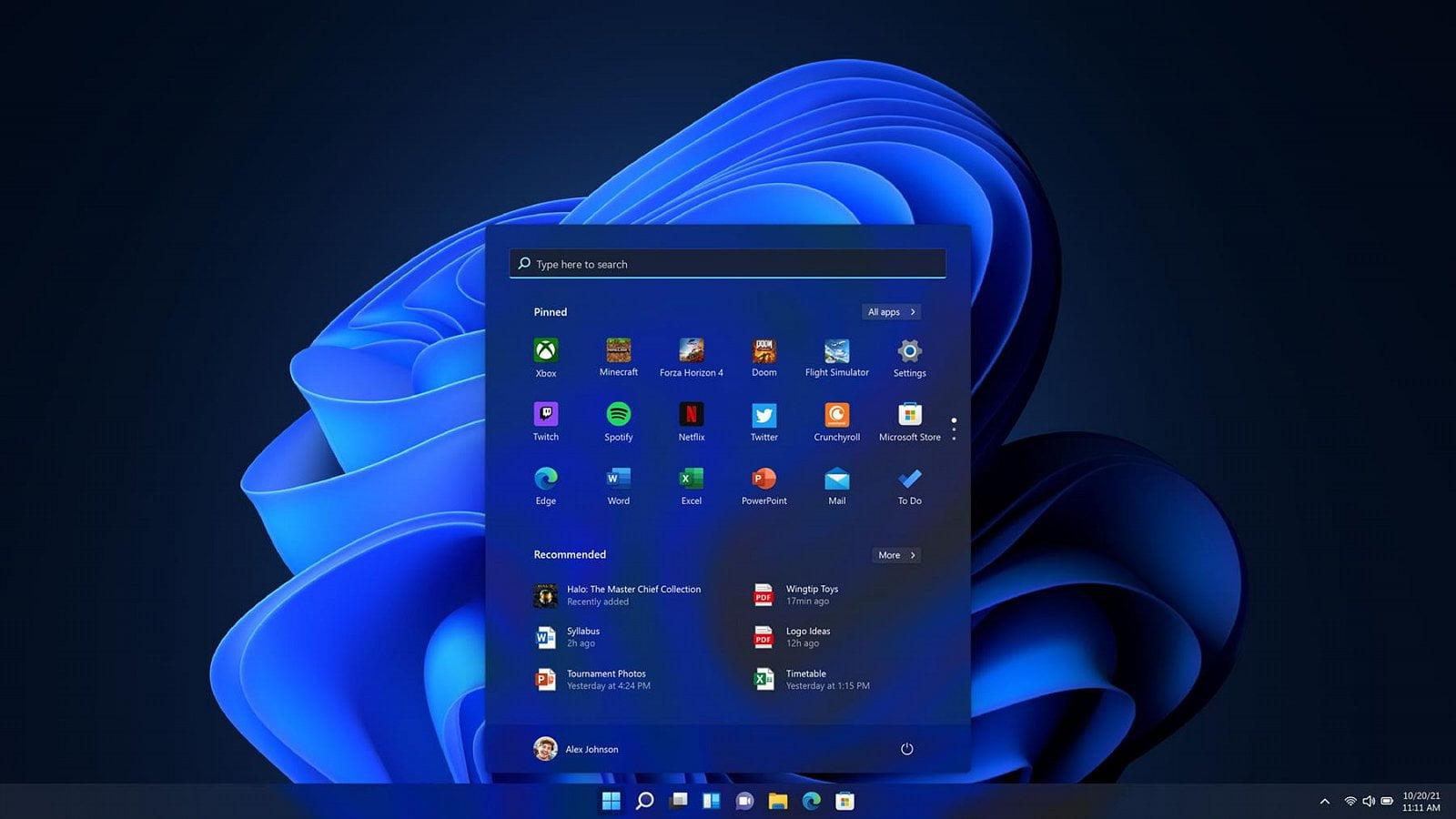 Jak bude vypadat pracovní prostředí Windows 11
