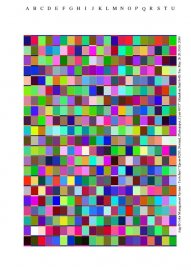 Kalibrace barev tisk