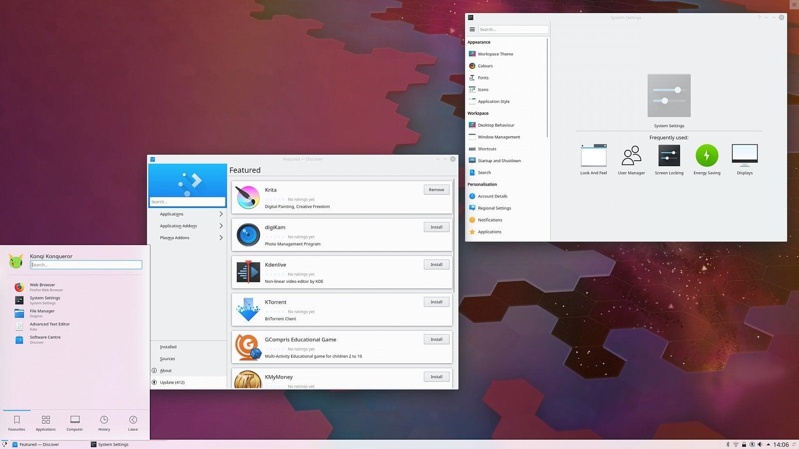 KDE Plasma 5.15.0