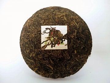 Pu-erh se prodává lisovaný nebo sypaný