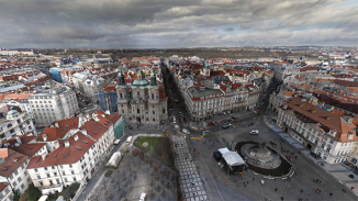 Lupa.cz: 405 gigapixelů v akci: 360stupňové foto Prahy