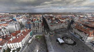 Lupa.cz: 405 gigapixelů v akci: 360stupňové foto Prahy