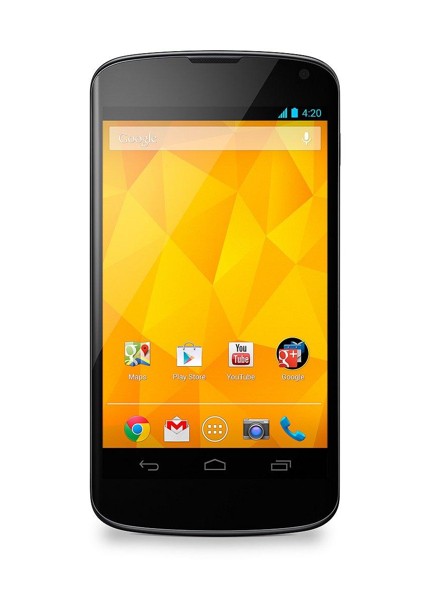 Bílá verze smartphonu Nexus 4