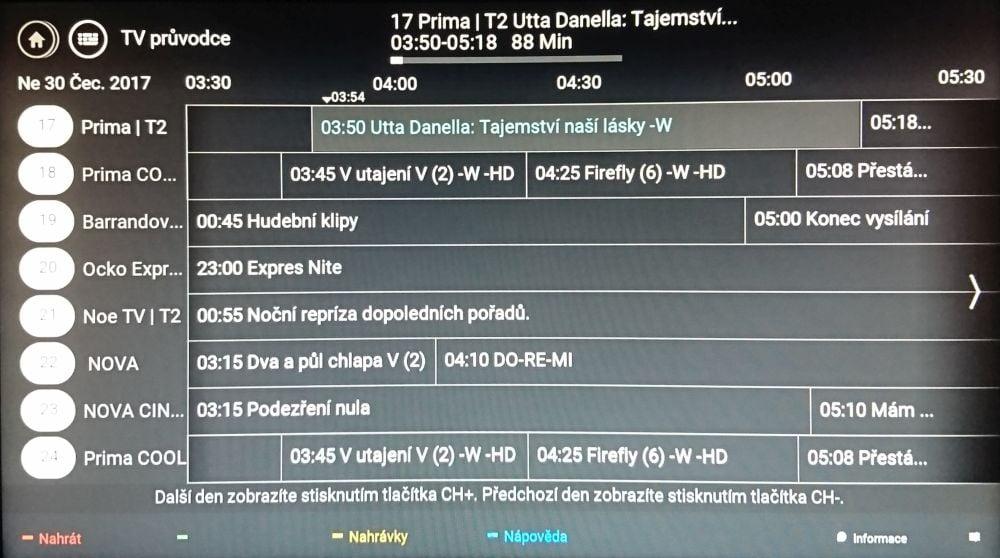 Philips 22PFS4232 - EPG