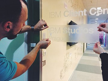 IBM Studios v Praze.