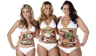 Kolik toho sní ženy různé velikosti?
