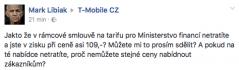 Komentáře k tarifům ministerstva financí