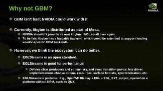Nvidia GBM / EGLStreams