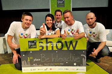 Vítězný tým Be Interactive